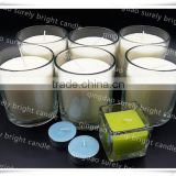 natural organic soy wax candles/soy wax