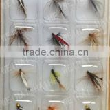 12 Pcs Assorted Nymph Trout Flies Fly fishing Hook