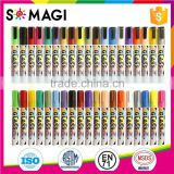 10 Pack Brilliant Color Bullet And Chisel Nib and Dry-Erase & Wet-Erase chalk marker