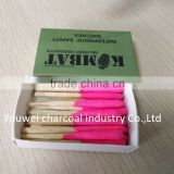 Safety Match Box Single Strike Wooden / Wax Match Stick Different Size Quality Box Supplier