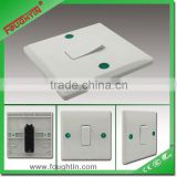 UK type wall plate bakelite material 1 gang 1 way wall switch