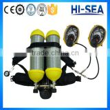 RHZKF6.8/30-2 He-rescued Type Firefighting Positive Pressure Air Breathing Apparatus with Double Cylinders