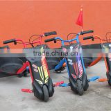 Kids outdoor entertainment scooter 100W Electric 3 wheel Crazy Drift trike electric tricycle