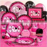 wholesale Pink Skull Party Supplies/Party Supplies,Halloween Costumes,Birthday Party,Theme Party