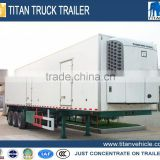 3 axles 20ft refrigerator container trailer,small container trailer,used refrigerator trailer