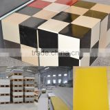 Hot sell smooth touch acrylic resin slab which can use for five star hotel counter top,dining table and wall decoration