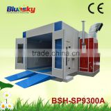 CE approved china supplier industrial baking oven/paint booth filter/spray painting oven