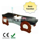 Electric Whole Body Jade Thermal 3D Massage Bed / CE Wooden Leisure Far Infrared Massage Table