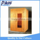 Wooden spa sauna room manufacturer / 6 person dty sauna room size