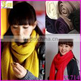 2014 New Korean Girl Lady Women Men's Winter Warmer Fashion Long Soft Cashmere Shawl Wrap Scarf 220*30cm