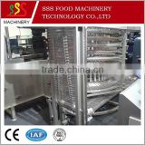 High quality single spiral freezer for tilapia fish fillet (skype:anna002128)