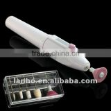 Nail Art Tips ELECTRIC MANICURE Toenail art DRILL FILE TOOL White