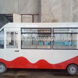 Electric Mobile Bus-type Food Car