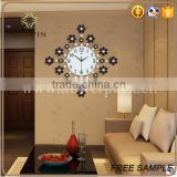 logo printed ornamental and practical wall clock