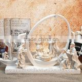 The birth of Jesus Christ Holy figures decorated gift jerusalem souvenir gifts