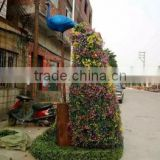 life size large top party artificial landscape uv resin plastic animal leaf alphabet letter octopus statue E08 23A6