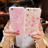 Beautiful case cover Silicone cell phone case diamond mobile Phone Cases for iPhone7/7Plus/6/6s/6plus/6splus soft case