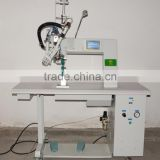 Hot air seam sealing machine