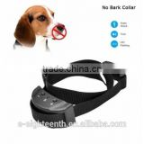 Cheap Black Anti Bark No Barking Remote Electric Shock Vibration Dog Pet Training Collar