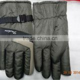 2014 winter ski gloves for men/boy work glove