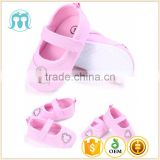 Baby Pre-Walker Flower Appliqued Dress Solid White Mary Jane Infant Shoes colourful