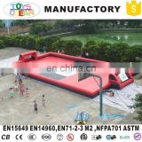 Inflatable Water Soap Soccer Field Inflatable Football Field