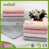 china supplier unbleached organic bamboo fiber jacquard face towel