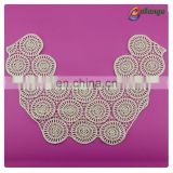 circle pattern embroidery lace motif lace collar