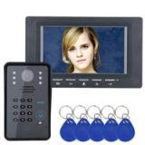 SY817BMJSA11 Doorbell Intercom Kit 7 Inch TFT Video Door Phone Night Vision with IR-CUT HD 1000TVL Camera