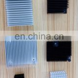 Customized aluminum profile extruded metal part electronic equipment unit colorful anodized heat sink