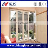 Water proof pickproof energy saving China top brand plastic frame frost glass sliding door price