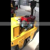 Factory Supply Hand-Held Single Steel Wheel Drum  Road Roller Construction Machinery For Sale