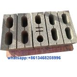 QMR4-45 Small diesel engine mobile egg laying concrete brick making machine price in China