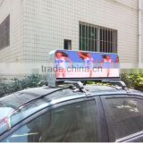 LIYI 3G/Wifi IP65 outdoor full color 960*320mm taxi top advertising signs/taxi roof lamp