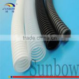 With ISO 9001:2008 Standard High Temperature Resistant Flexible Nylon Flame Retardant Corrguated Pipe PA Hose Conduit in Railway