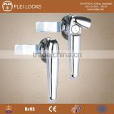 CE RoHS 2015 FEILEI MS308-2 new design zinc alloy electrical cabinet/gate/door handle lock with cover