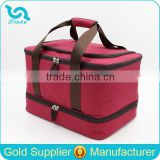 2015 New Large Capacity Thermo Picnic Bag PEVA Liner Travel Picnic Bag