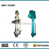 Submersible slurry pump with electric motor and bottom agitator