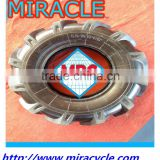 Made In CHINA Agricultural Heavy Duty Tractor Tire Motorcycle Tyre and Butyl Tube 5.00-10