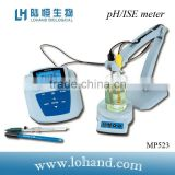 Hign quality bench top PH meter MP523 ph,mv,ion tester