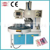Turn table high frequency handware plastic blister packing machine with PLC touch screen