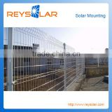 aluminum fencing mounting net solar power fence wire mesh fence
