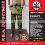Camouflage Gym Pants Trousers Singlet Shirts Bodybuilding wear Apparel for Gym by FHA INDUSTRIES
