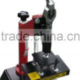 new 2014 china cheap high quality manual hand cap press machine shaking head double stations heat