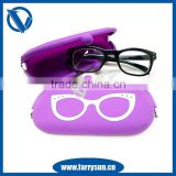 2015 Hot selling Silicone eyeglasses cases/eye glasses case