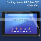 Mobile accessories HD clear ultra thin LCD screen protector guard film for Sony Xperia Z4 tablet Lte