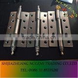 Wholesales Price Iron Flag Hinges Used in Doors , Door Hardwares Decorated