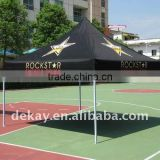 10x10ft hexagonal aluminum pop up gazebo folding tent