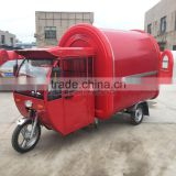 Design for free red Food Van/Street Food Vending Cart For Sales,Hot Dog Cart/Mobile Food cart