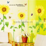 Butterfly Grass Flower Stickers Removable Diy Vinyl Quote Wall Sticker Poster Home decoration